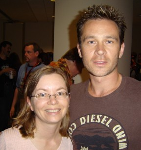 [Carolyn and Connor Trinneer