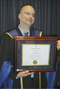 [Robert J. Sawyer receives Honorary Doctorate]