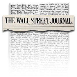 Robert J. Sawyer » Blog Archive » The Wall Street Journal loves ...